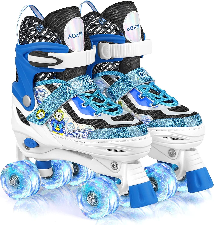 Roller Skates for San Jose Mall Kids Recommendation Girls 4 Skate Adjustable Boys Size