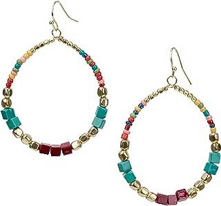 Best beaded hoop earrings Reviews