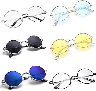 IFLASH Sunglasses (Gift item) Stylish New Lens Design Mirror Goggles Sunglasses For Men, Women, Boys, Girls