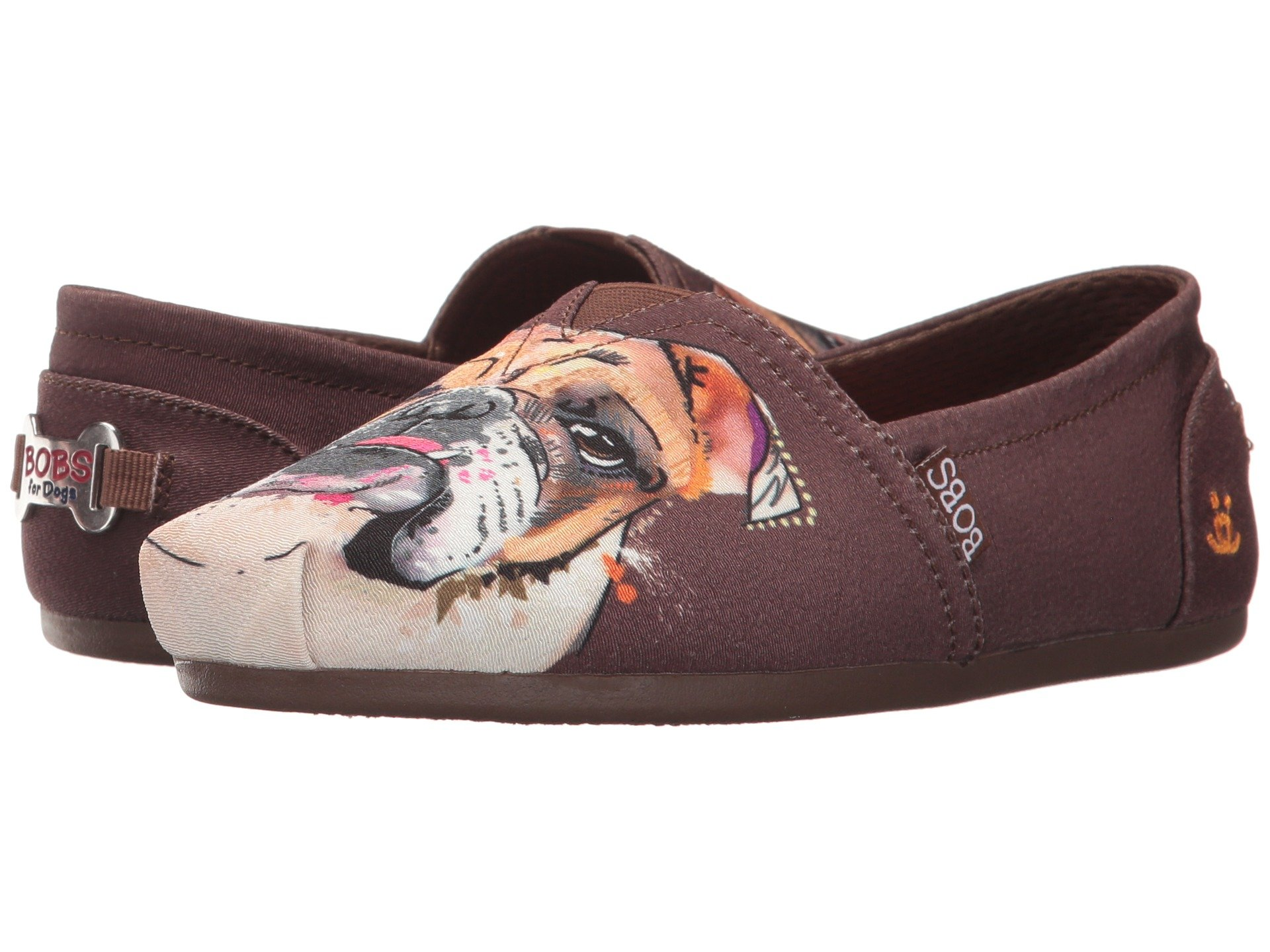 Mocasines para Mujer BOBS from SKECHERS Bobs Plush - Paw-fection  + SKECHERS en VeoyCompro.net