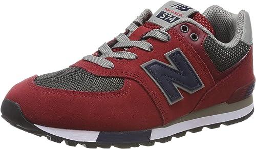 New Balance Gc574v1, Sneaker Bambino, Rosso (Red Red), 35.5 EU ...