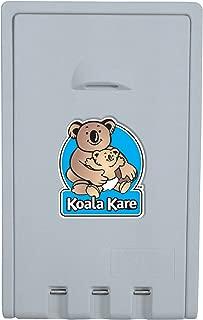 Bobrick KB101-00 Koala Kare High Density Polyethylene Vertical Wall Mounted Baby Changing Station, Cream Finish, 22