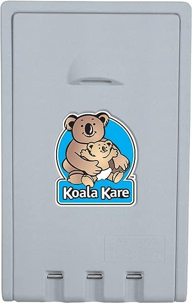 Bobrick KB101 00 Koala Kare High Density Polyethylene Vertical Wall Mounted Baby Changing Station Cream Finish 22 Width X 35 1 2 Height