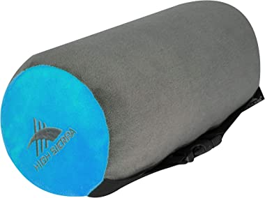 "High Sierra HS1401 - 11"" Neck Roll Travel Pillow - 100% Pure Memory Foam - Relieves Painful Pressure Points - Provides Except"