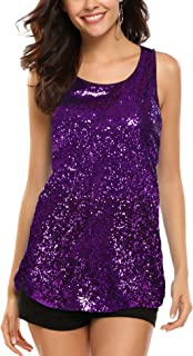mardi gras sequin top