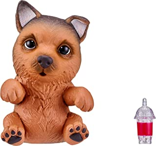 Little Live OMG Pets Soft Squishy Puppy That Comes to Life - Interactive Soft Puppy - German Shepherd