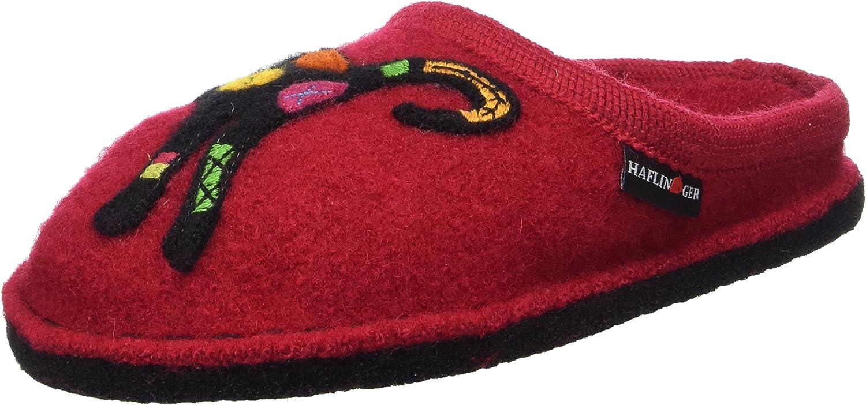 Haflinger women's Textile shoes for home