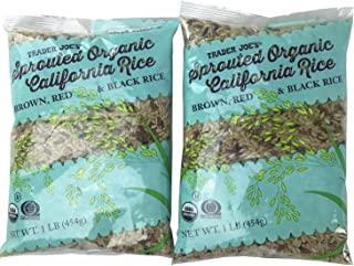 trader joe's sprouted rice