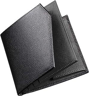 C two Q 二つ折り財布 PLUS 小銭入れ メンズ 人気 本革 キャッシュレス化対応 小さい ミニ 財布
