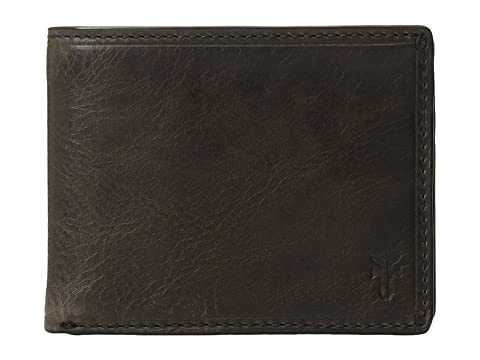 ID Frye Slim Pull Logan Billfold Slate Up Antique ww8fqAg