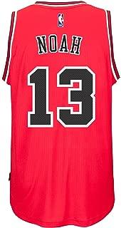 Joakim Noah Chicago Bulls Adidas Road Swingman Jersey (Red)