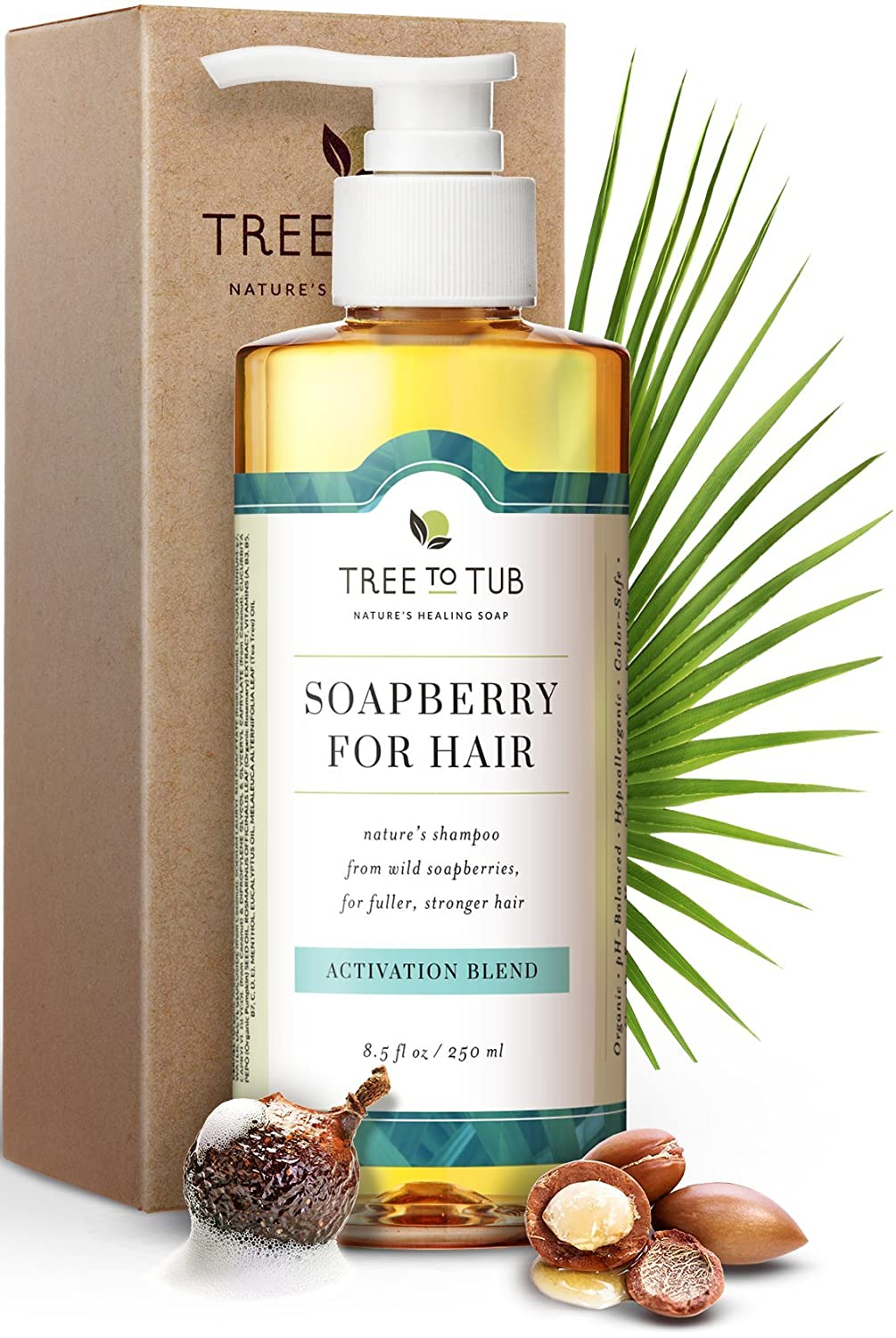 NEW before selling Gentle Hair Volumizing Shampoo by Tree sold out To Caffeine Biotin - Tub