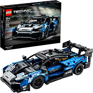LEGO Technic McLaren Senna GTR 42123 Toy Car Model Building Kit; Build and Display an Authentic McLaren Supercar, New 2021...