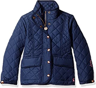 Joules Girls' Little Newdale Quilted Coat