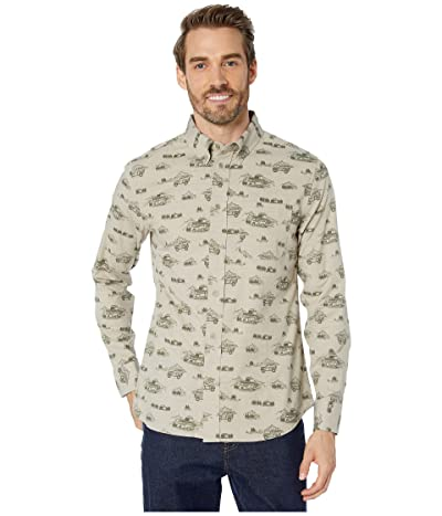 United By Blue Long Sleeve Outpost Button Down (Mushroom/Adventure Mobile) Men