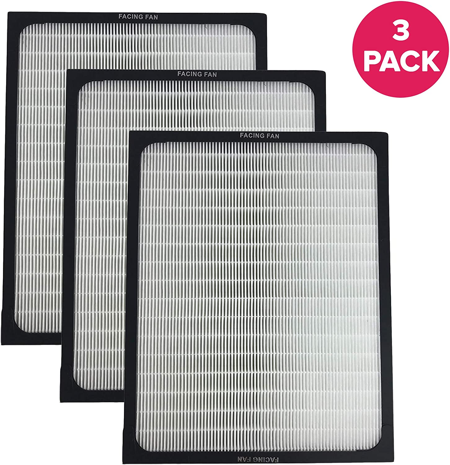 Think Crucial 3 Air Purifier Filter Designed To Fit all blueeair Brand 200 and 300 Series Models 201, 210B, 203, 250E,200PF, 201PF