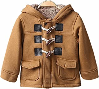 TAOJIAN Toddler Baby Boys Cotton Blend Winter Warm Toggle Outwears Snowsuit and Coat