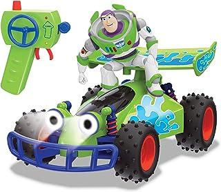 Dickie Toys RC Toy Story Crash Buggy, fjärrstyrd leksak Toy Story 4, Toy Story fordon med radiostyrning, för barn från 4 år