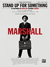 Stand Up for Something (from Marshall): Piano/Vocal/Guitar, Sheet (Original Sheet Music Edition)