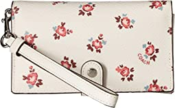 COACH - Phone Wristlet with Floral Bloom Print