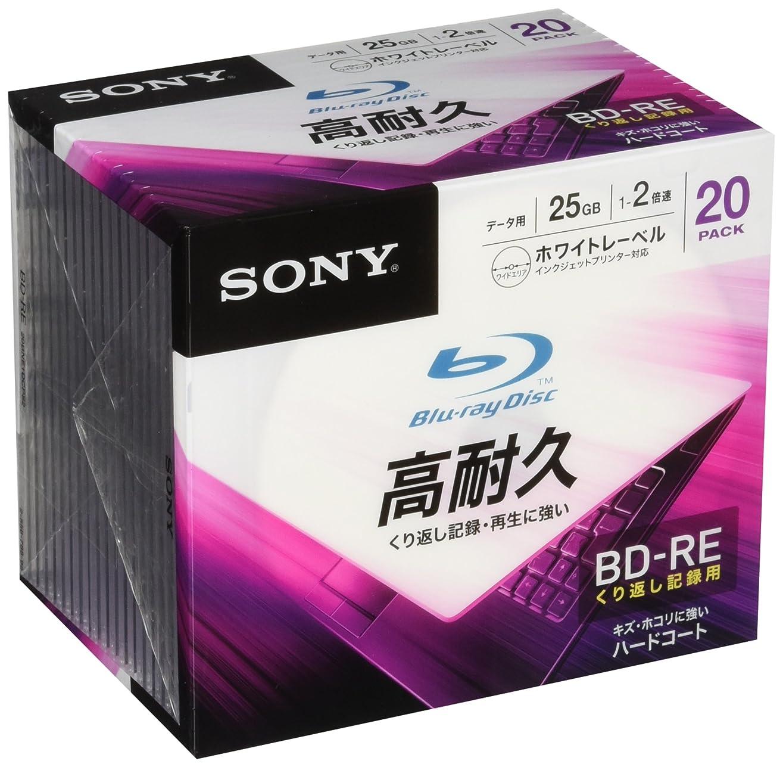 以上納得させる恋人SONY データ用ブルーレイディスク(20枚パック)20BNE1DCPS2
