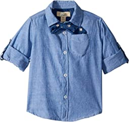 Bow Tie Oxford Shirt (Toddler/Little Kids/Big Kids)