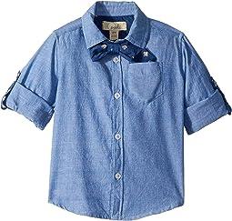 Bow Tie Oxford Shirt (Toddler/Little Kids/Big Kids)