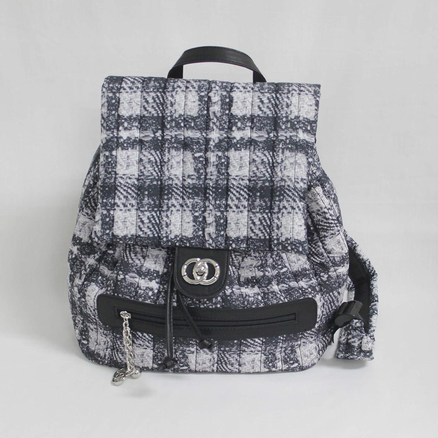 ガウン縞模様のスロープナイロン チェック柄 リュック 大人バッグ 軽量 軽い