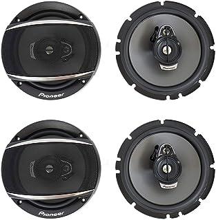 "$92 » (4) Pioneer TS-A1677S 6.5"" 3 Way Car Audio Speakers 320 Watts"