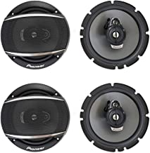 "$97 » (4) Pioneer TS-A1677S 6.5"" 3 Way Car Audio Speakers 320 Watts"
