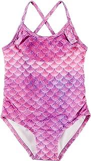 Reel Legends Toddler Girls Mermazing Flounce Swimsuit