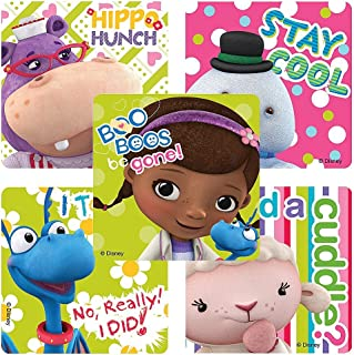 doc mcstuffins check up center refill stickers