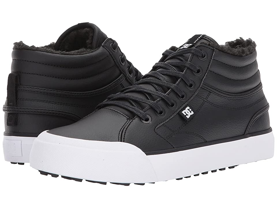 DC Evan Hi WNT (Black/White/Black) Women