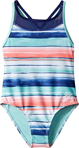 Under Armour Kids Water Stripe One-Piece (Toddler)