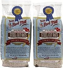 Bob's Red Mill Oats Steel Cut - 24 oz - 2 pk