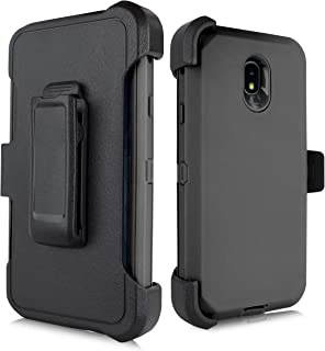 for Samsung Galaxy J7 2018 / J7 Refine / J7V 2nd Gen / J7 Star / J7 Top Case, Heavy Duty Defender Case, Belt Clip Holster ...