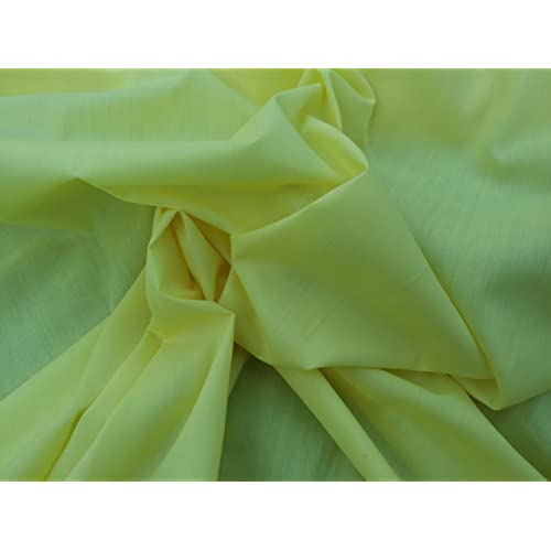 4991e1311b5f Prestige Fashion Polycotton Fabric Material All Plain Colours - By The  Metre 115cm wide (45