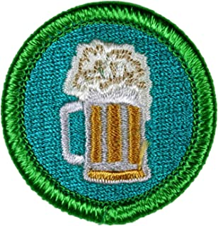 Adult Beverage Drinking Novelty Merit Badge - 1.5