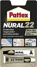 Pattex Nural 22, cemento reparador de construcción, resistente al agua, 22 ml