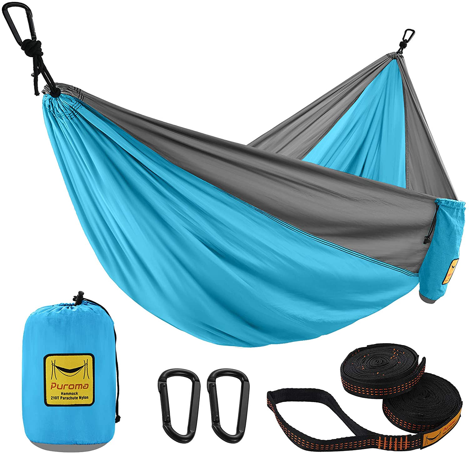 Puroma Camping Today's only Hammock Single Portable Double Ultralig Credence
