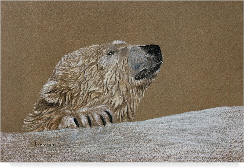 Polar Bear by Rusty Frentner, 12x19Inch