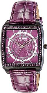 Titan Purple Analog Purple Dial Women's Watch - NC9864NL01