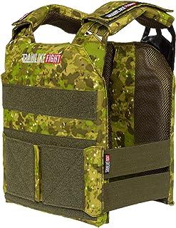 comprar comparacion TRAINLIKEFIGHT MEV Entry Vest - Chaleco Lastrado Ajustable para Entrenamiento, Crossfit, calistenia o Fitness (Apto para P...