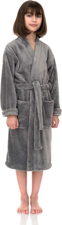 TowelSelections A surprise price is realized Girls Robe Kids Plush Kimono Fleece Bathrobe Max 42% OFF