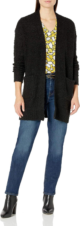 Tribal Women's Sweater Cardigan-Black