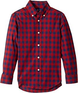 Polo Ralph Lauren Kids - Checked Cotton Poplin Shirt (Toddler)