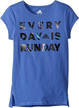 Short Sleeve Every Day Is Run Day Tee (Big Kids)