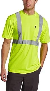 Key Apparel Men's ANSI Class 3 High-Visibility Short-Sleeve Pocket T-Shirt