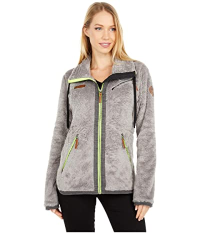 Obermeyer Britt Fleece Jacket (Pewter) Women