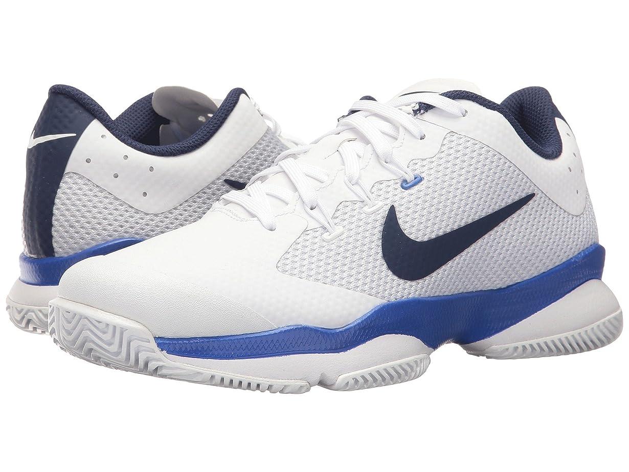 民族主義振りかける次(ナイキ) NIKE レディーステニスシューズ?スニーカー?靴 Air Zoom Ultra White/Binary Blue/Mega Blue 9 (26cm) B - Medium